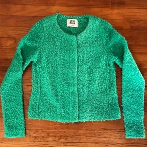 ASOS Vero Moda Kisser Cardigan Bright Green Small